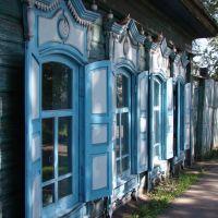 Дом со ставенками на улице Коммунистической, Нижнеудинск