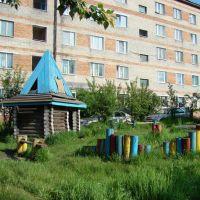Нижнеудинск. Детская площадка на ул. Ленина, Нижнеудинск