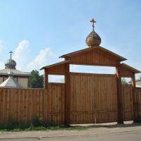 Нижнеудинск. Церковные врата, Нижнеудинск