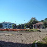 Нижнеудинск. Перекрёсток у кинотеатра, Нижнеудинск