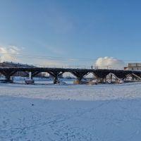 Мост еще жив. 2009 год., Нижнеудинск