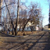 Осенний парк., Нижнеудинск