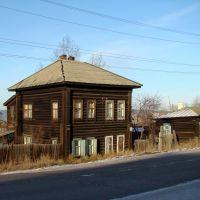 Остатки старой застройки., Нижнеудинск