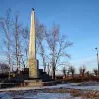 Памятник борцам революции., Нижнеудинск
