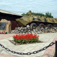 Солдатам правопорядка, погибшим при исполнении служебного и воинского долга, Нижнеудинск
