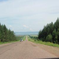 Иркутская область. Дорога на Осу. 2010г., Оса