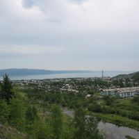 вид на Слюдянку / view to Sludyanka settlement, Слюдянка