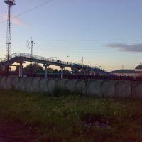 Вокзальный мост через ж/д пути (2010г.), Тайшет