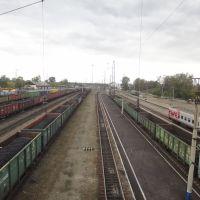 Станция Тайшет, Вид на запад, Тайшет