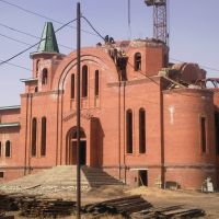Строящийся храм, Усолье-Сибирское