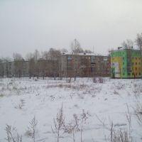 59-й квартал, вид с Комсомольского проспекта, Усолье-Сибирское