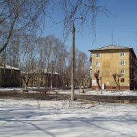 Перекресток улиц Ватутина и Сеченова, Усолье-Сибирское