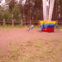 карусель Вихрь в детском парке, Усть-Илимск