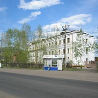 Osetrovo rivers port head office, Усть-Кут