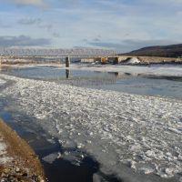 Осенний ледоход 2009, Усть-Кут