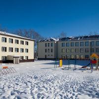 Школьный двор, Усть-Ордынский