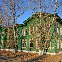 Бывшее медицинское училище, Усть-Ордынский