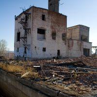 Заброшенное зернохранилище (Abandoned barn), Усть-Ордынский