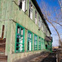 Abandoned school, Усть-Ордынский