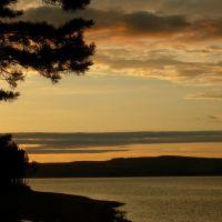 Красивый закат, Усть-Уда