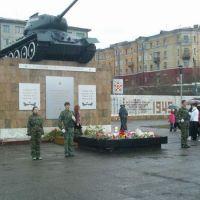 Танк (памятник ВОВ), Черемхово