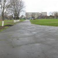 Панорама стадиона третьей школы, Майский