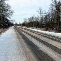 Зимняя дорога., Майский