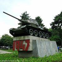 Танк-монумент защитникам и освободителям города Нальчика от немецко-фашистских захватчиков, Нальчик