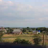 Вид с моста на ул. Ворошилова, Прохладный