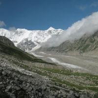 bezengi glacier and bezengi wall, Советское