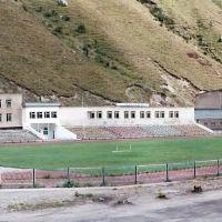 Тырныауз. Стадион Труд и спорткомплекс Баксан, Тырныауз