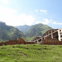 Заброшенное здание, Тырныауз