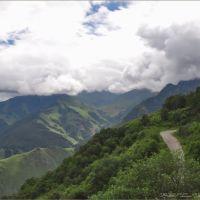Путь к штольням ..., Тырныауз