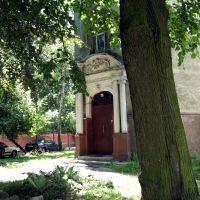 Дом довоенной постройки на ул.Зоологический тупик (ранее Götzstraße), Кёнигсберг