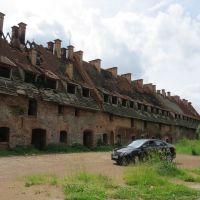 Обгорелая крыша, Багратионовск
