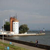 Балтийск. Набережная канала. Вход в гавань, Балтийск