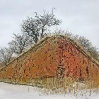 Равелин. Одно из укрепления старой крепости (One of strengthening of an old fortress), Балтийск