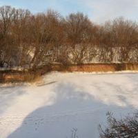 Крепость Пиллау в Балтийске, вид с южной стороны. Панорама из 5 кадров., Балтийск