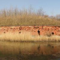 Контргард Кёниг крепости Пиллау в Балтийске. Панорама из 4 кадров., Балтийск