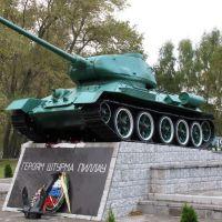 """монумент: """"героям штурма пиллау"""".  Балтийск., Балтийск"""