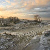 Остывшие дюны, Балтийск
