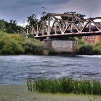 Гвардейск. Мост через р. Преголя, Гвардейск