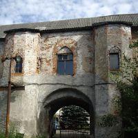 Южные ворота замка Нойхаузен / Neuhausen. Вид с внешней стороны, Гурьевск