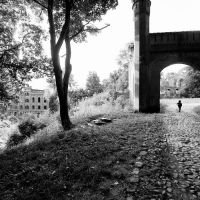 old gate, Железнодорожный