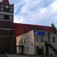 Gerdauen Kirche, Железнодорожный