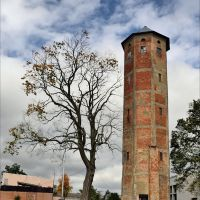 Водонапорная башня в Железнодорожном, Железнодорожный