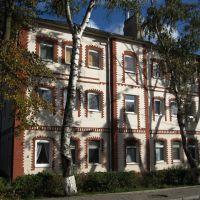 Жилой дом на улице Железнодорожной в Зеленоградске., Зеленоградск