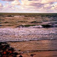 Море цвета бронзы., Зеленоградск