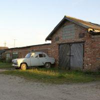 Ретро автомобиль у горожа, Знаменск