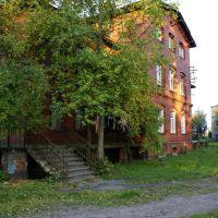 ул. Юбилейная (Зеленая) красные дома, Знаменск